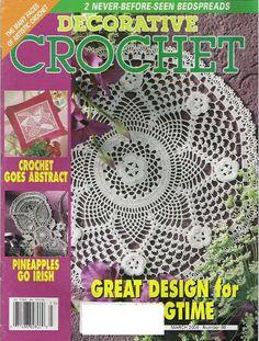 Decorative Crochet Magazines 98 - 2004 - kathrine zara - Picasa Web Albums