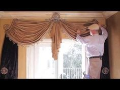 Video #48: Tips From Us: Swag Curtains DIY - How to Create Stunning Swag Curtains in Your Home - YouTube