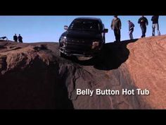 2012 Ford F-150 SVT Raptor on Hell's Revenge Trail in Moab, Utah