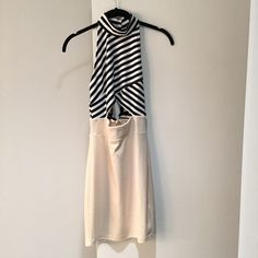 RESERVED Cut Out Dress Cut Out Dress by Solemio LA. Size Small. Excellent condition. Nasty Gal Dresses Mini