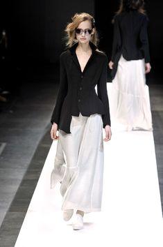Yohji Yamamoto at Paris Fashion Week Spring 2009