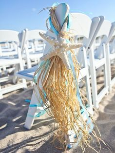 15 Beach-Themed Decorations for a Chic Seaside Wedding - Hochzeit Beach Wedding Reception, Beach Wedding Decorations, Beach Wedding Favors, Seaside Wedding, Wedding Favors For Guests, Unique Wedding Favors, Wedding Day, Wedding Ceremony, Wedding Parties