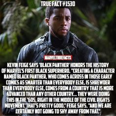 Kevin Feige, about Black Panther