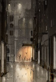 The crack in the clouds. by PascalCampion on DeviantArt