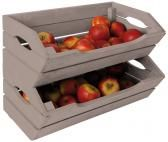 Fruit tray from FSC certified Fallen Fruits. Vegetable Bin, Vegetable Storage, Fruit Storage, Food Storage, Storage Ideas, How To Store Apples, Garage Organisation, Organization, Fallen Fruits