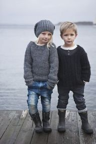 They're like they're from a little fishing town. So cute