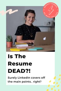 It's 2020, why are we still wasting so much time pulling together a resume in Word 2007?  Surely LinkedIn covers off the main points .. right?  There's no way you can stand out with a generic resume, they are definitely dead. 💀 But a modern resume is NOT DEAD. In fact, it's one of the most important elements of your job hunt. Let's look at the reasons! #badasscareers #resume #resumetips #resumeexamples #jobinterviewtips #jobs #careeradvice Resume Tips, Resume Examples, Job Interview Tips, Modern Resume, Job S, Career Advice, Facts, Let It Be, Cover