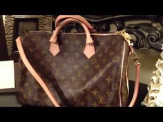 Louis Vuitton Speedy 35 Bandouliere Handbag