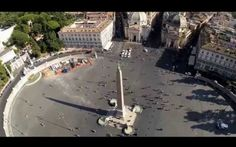 Il drone riprende le meraviglie di Roma #roma #drone #video