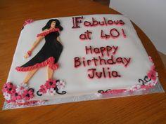 4oth birthday cake.