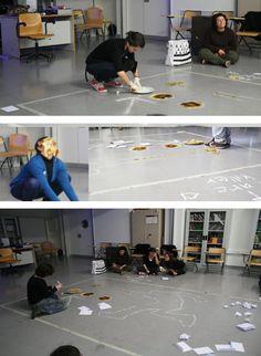 Espagne 2012- Performance ft F.Bartolome: la crêpe, une matière de communication.