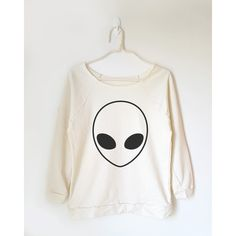 Funny Alien Tshirt Funny Tee Shirt Hipster Tshirt Tumblr Tee Shirt... ($22) ❤ liked on Polyvore featuring tops, t-shirts, black, women's clothing, off shoulder tops, hipster tops, hipster t shirts, hipster shirts and off the shoulder shirts