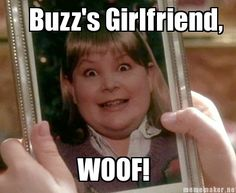 In making the movie Home Alone, the director thought it was too mean to make fun of a girl, so for the picture of Buzz's girlfriend (Woof!) they dressed a boy up as a girl.