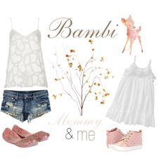 A fashion look from September 2013 featuring Topshop camis, H&M shorts and Melissa flats. Browse and shop related looks. Mother Daughter Outfits, Mommy And Me Outfits, Mom Daughter, Girl Outfits, Cute Outfits, Disney Inspired Outfits, Disney Outfits, Toddler Fashion, Kids Fashion