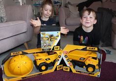 Toys: CAT Construction Vehicles