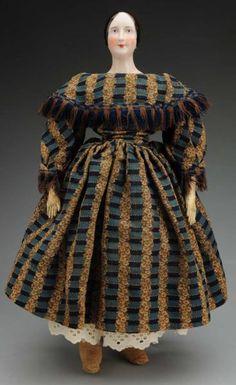 early china head doll