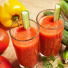 The Best Tomato Juice Smoothie Recipes on Yummly Juicing Vs Smoothies, Celery Smoothie, Apple Smoothie Recipes, Apple Smoothies, Yummy Smoothies, Juice Smoothie, Cucumber Smoothie, Cucumber Juice, Healthy Foods To Eat