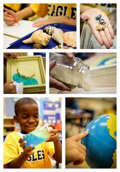 Such fun hands-on ocean ideas!!!