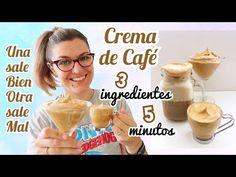 CREMA DE CAFÉ CON 3 Ingredientes EN 5 Minutos *CAFÉ DALGONA* Crema de Café Mágica *RECETAS VIRALES* - YouTube Tapas, Barbacoa, Cereal, Breakfast, Party, Desserts, Youtube, Food, Cake Recipes