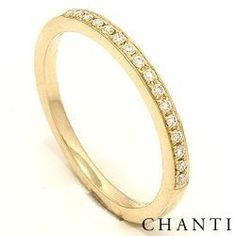 Chanti - Diamant ring in 14 karaat goud 0,09 ct