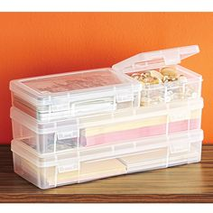 For my sewing supplies?  Modular Office Storage Cases | The Container Store