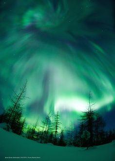 Solar storm- Aurora Borealis