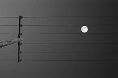 Music for the moon. Music everywhere if you look for it :)