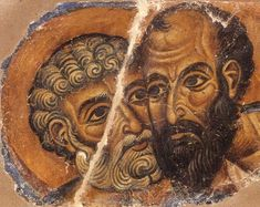 Lessons From the Apostles: On the Feast Day of Sts. Fresco, Byzantine, Artwork, Painting, Board, Google, Fresh, Work Of Art, Auguste Rodin Artwork