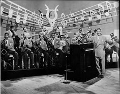Big Band started out with early Instrumentation. This included about 5 trumpets, 5 saxophones, and 4 trombones, as well as Drums, bass or tuba, piano, vocals, and sometimes a banjo.