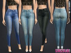 .:131 - High jeans:. Found in TSR Category 'Sims 4 Female Everyday'