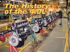 jeeps Kick Ass Engine History 4 Liter assembly Line Photo 9311075