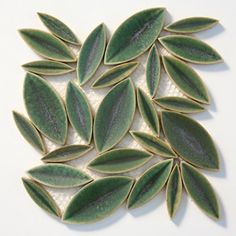 Leaf Sorrel - asian - kitchen tile - seattle - Statements Tile