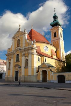 Pictures of Gyor, Hungary - Stock Photos Hungary Travel, Budapest Hungary, Travel Images, Pictures Images, Cool Places To Visit, Countries, Russia, Photo Galleries, Beautiful Places