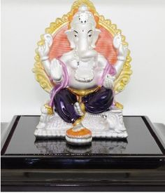 Traditional silver Ganesha collection with pure metal.