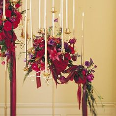 Floral Decoration For Church Wedding | table candelabra can be decorated with flowers as well here