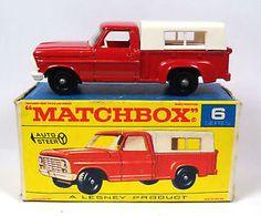vintage matchbox cars Regular-6-Ford-Pick-Up-Truck.