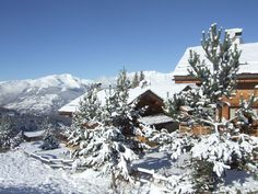 Premières neiges à #peiseyvallandry #paysage #montagne
