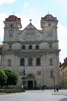 Jezuit #church, Kosice, #Slovakia.   The most valuable Baroque object of Košice, Slovakia, especially notable for its interior.