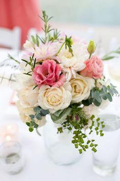 Rosas blancas & rosas.