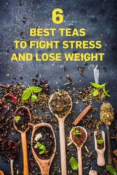 Drink these teas to combat stress, sleep better, and even lose weight. They're teas for weight loss, but they'll also banish your anxiety. (scheduled via http://www.tailwindapp.com?utm_source=pinterest&utm_medium=twpin&utm_content=post26618860&utm_campaign=scheduler_attribution)