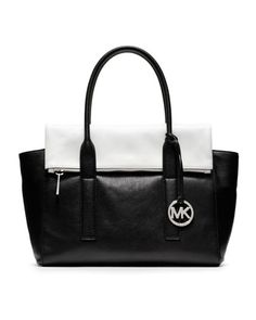 feeb63de6b MICHAEL Michael Kors Large Tippi Two-Tone Satchel. Michael Kors Shoulder Bag