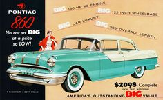 1955 Pontiac 860 2-Door Sedan by aldenjewell, via Flickr
