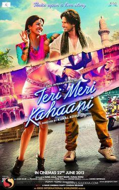 TERİ MERİ KAHANİİ(2012) Film üç farklı zamanda geçen üç farklı aşk hikayesini aynı kişilerle anlatıyor.1910,1960 ve 2012 de geçen hikayelerle dönemin ilişkileri nasıl etkilediğini de görebiliyoruz.Elenceli ve sıcak bir film.Başrollerde Shahid Kapoor ve Priyanka Chopra. İmdb puanı:4,7