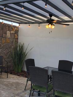 Pergola Ideas For Patio Casa Patio, Patio Wall, Patio Roof, Diy Patio, Backyard Patio, Backyard Landscaping, Outdoor Pergola, Diy Pergola, Pergola Kits