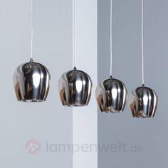 Vierflammige LED-Pendelleuchte Interio 9505982