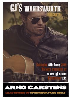 Arno Carstens (Springbok Nude Girls) live at GJs Wandworth. Arno, About Uk, Nude, Girls, Movies, Movie Posters, Toddler Girls, Daughters, Films