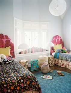 Kids' Room design ideas and photos to inspire your next home decor project or remodel. Check out Kids' Room photo galleries full of ideas for your home, apartment or office. Bohemian Bedroom Design, Girl Bedroom Designs, Bedroom Ideas, Bohemian Bedrooms, Bedroom Décor, Bohemian Interior, Bedroom Furniture, Teen Girl Bedrooms, Little Girl Rooms