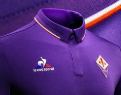ACF Fiorentina 2016/17 le coq sportif HOme and Away Kits