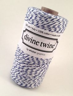 Blue Baker's Twine Blueberry Divine Twine by ForeverYoursTruly