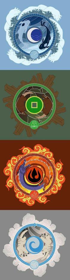 Avatar: The Legend of Aang / Korra - the original benders Avatar Airbender, Avatar Aang, Avatar Legend Of Aang, Team Avatar, Legend Of Korra, The Last Avatar, Art Manga, Avatar Series, Korrasami